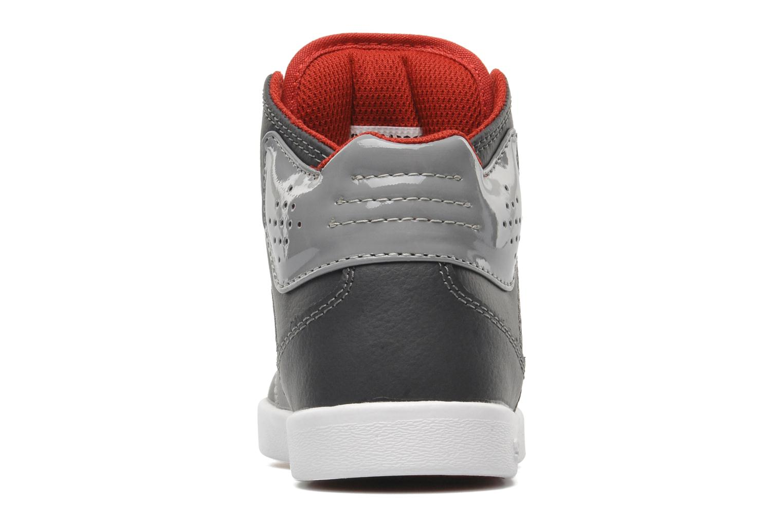 Atom Kids Grey/charcoal/red white