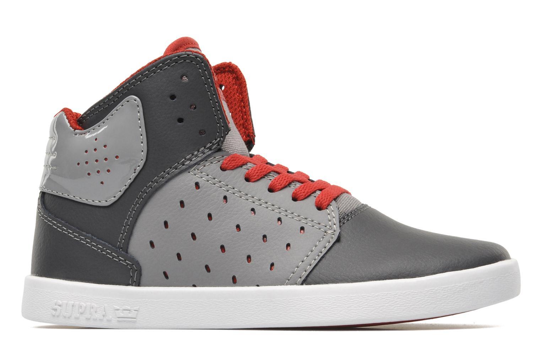 Sneaker Supra Atom Kids grau ansicht von hinten