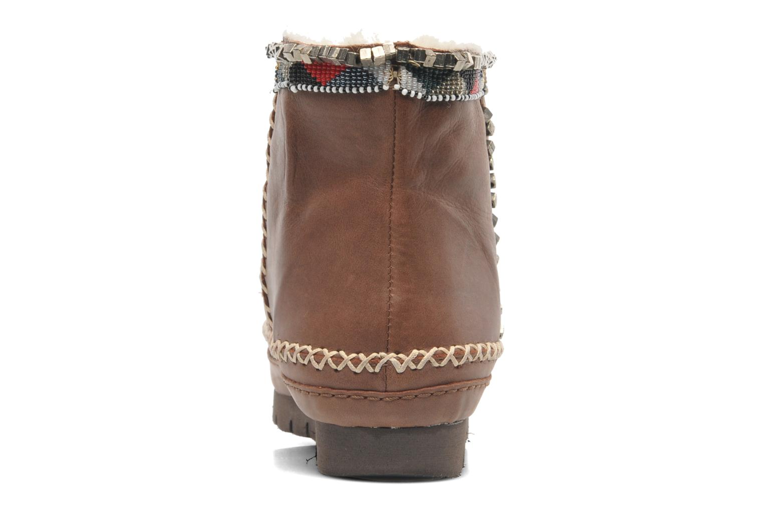 Ankle boots Laidback London Nyali Brown view from the right