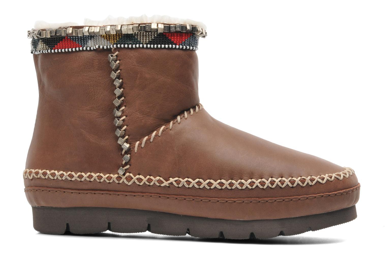 Bottines et boots Laidback London Nyali Marron vue derrière