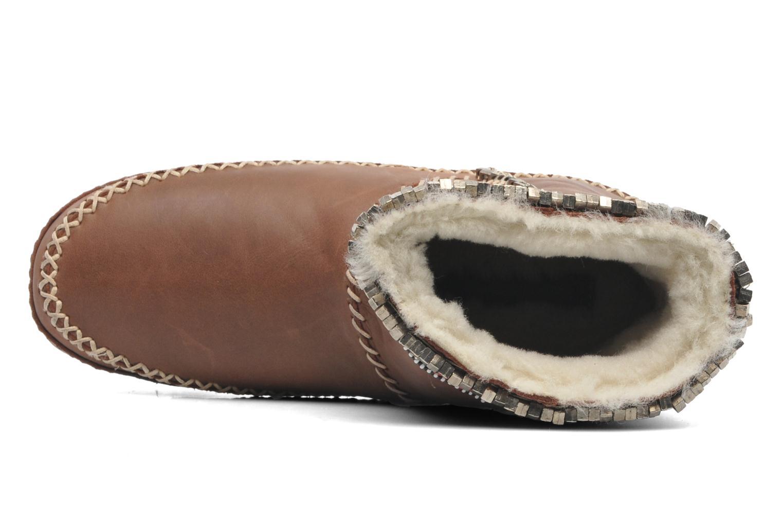 Boots en enkellaarsjes Laidback London Nyali Bruin links
