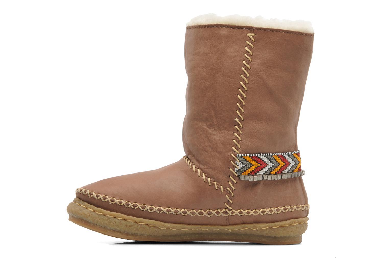 Boots en enkellaarsjes Laidback London Naira Bruin voorkant