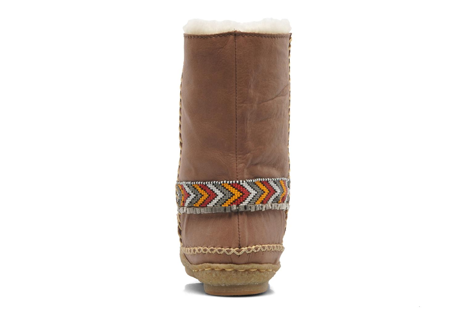 Naira Mid brown leather
