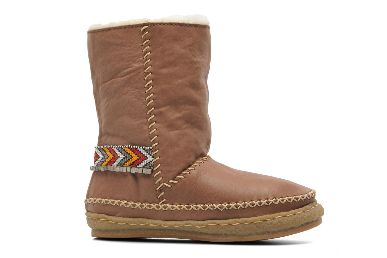 Boots en enkellaarsjes Laidback London Naira Bruin achterkant