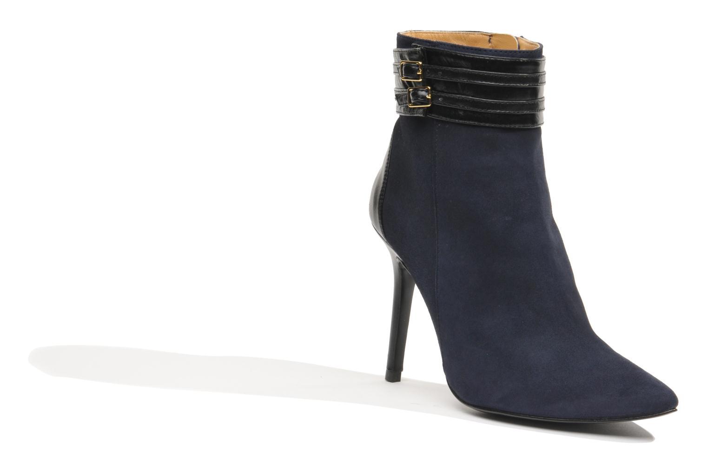 Botines  Made by SARENZA Monceau #8 Azul vista de frente
