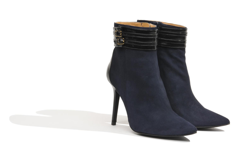 Botines  Made by SARENZA Monceau #8 Azul vista lateral derecha