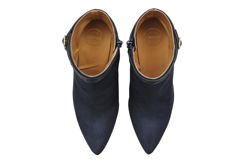 Bottines et boots Made by SARENZA Monceau #8 Bleu vue haut