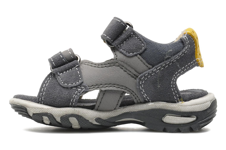Sandalen Bopy Camoki Kouki grau ansicht von vorne