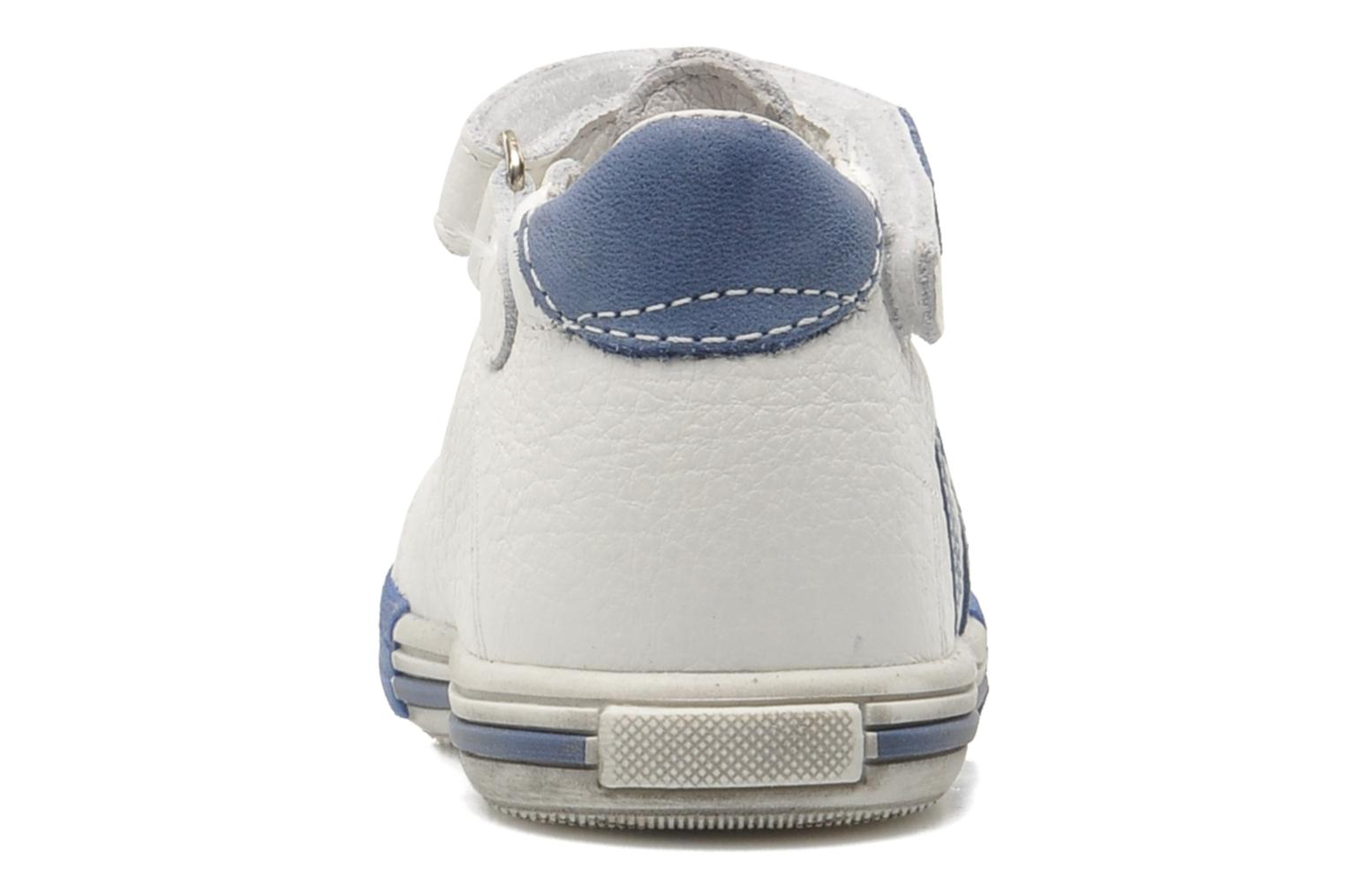 Velcro shoes Bopy Zanar White view from the right