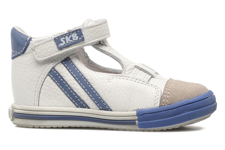 Velcro shoes Bopy Zanar White back view