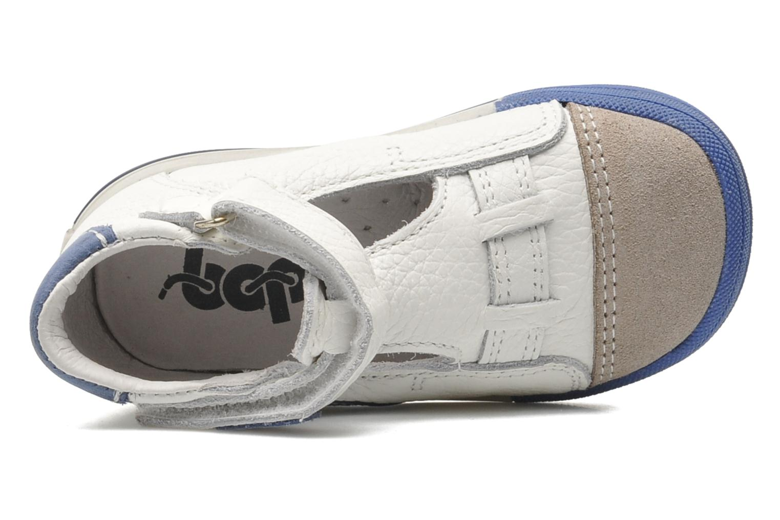 Velcro shoes Bopy Zanar White view from the left