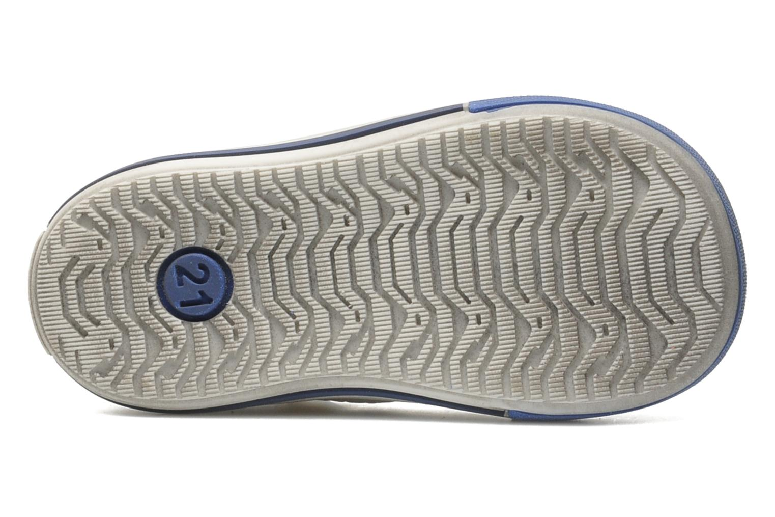Velcro shoes Bopy Zanar White view from above