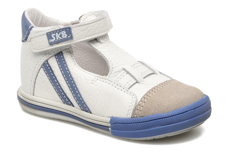 Schoenen met klitteband Bopy Zanar Wit detail