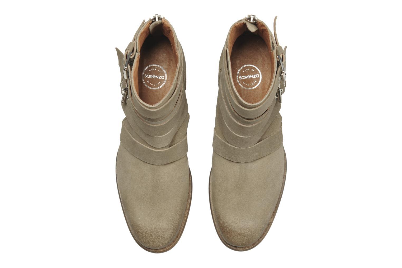 Bottines et boots Made by SARENZA Buttes-Chaumont #7 Beige vue portées chaussures