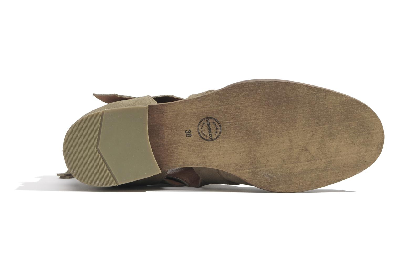 Bottines et boots Made by SARENZA Buttes-Chaumont #7 Beige vue gauche
