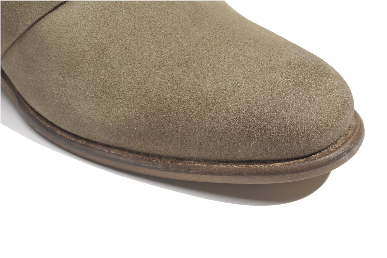 Bottines et boots Made by SARENZA Buttes-Chaumont #7 Beige vue haut