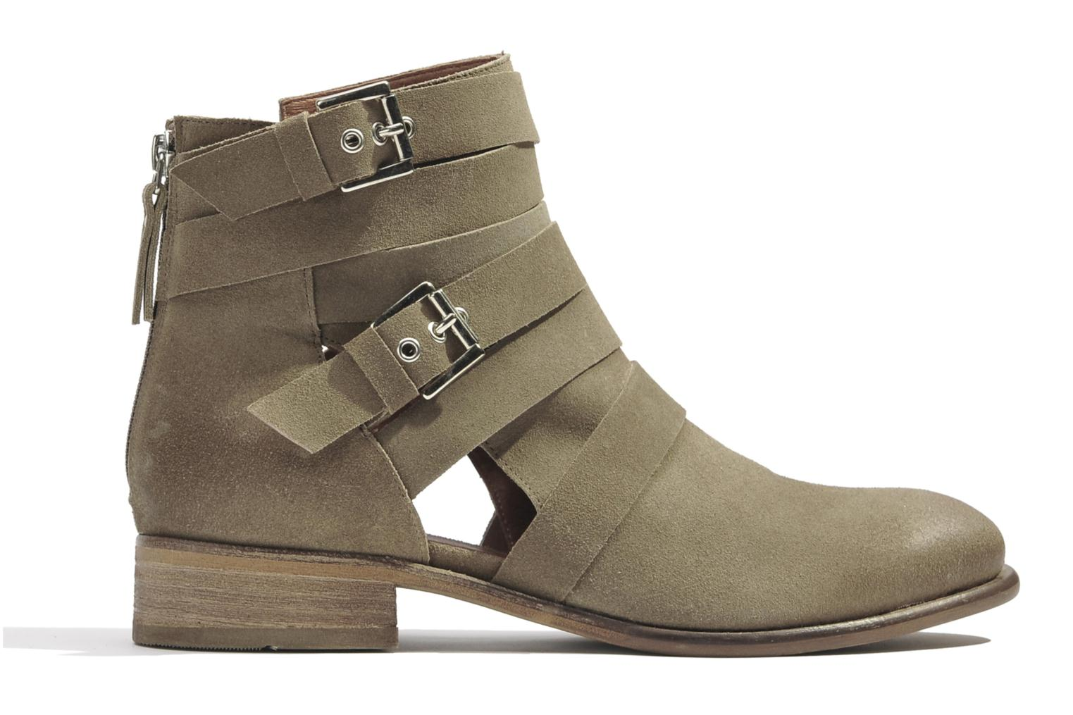 Ankle boots Made by SARENZA Buttes-Chaumont #7 Beige detailed view/ Pair view