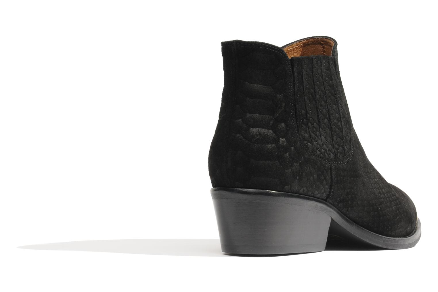 Ankle boots Made by SARENZA Cape Town #3 Black model view