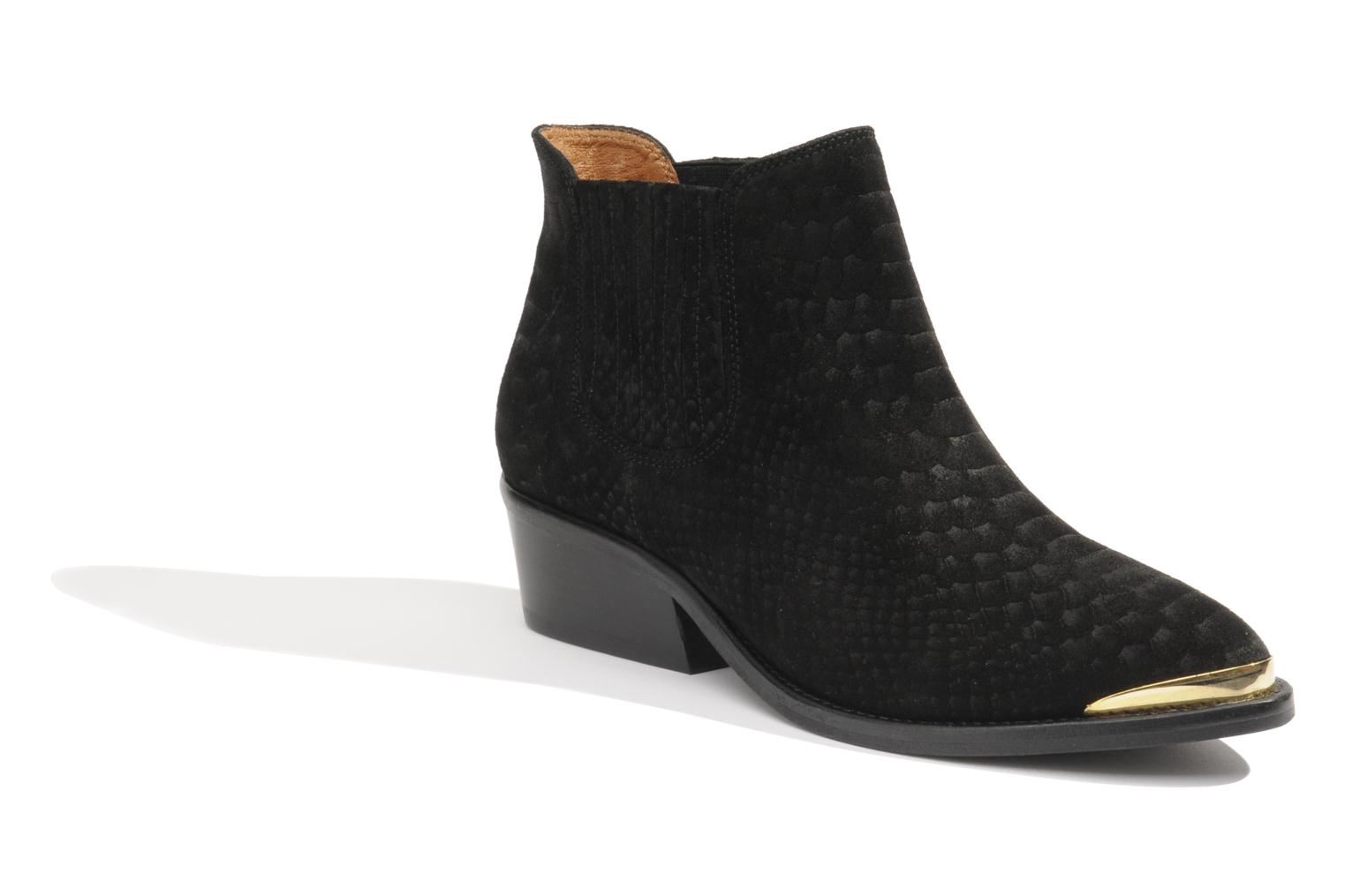 Ankle boots Made by SARENZA Cape Town #3 Black front view