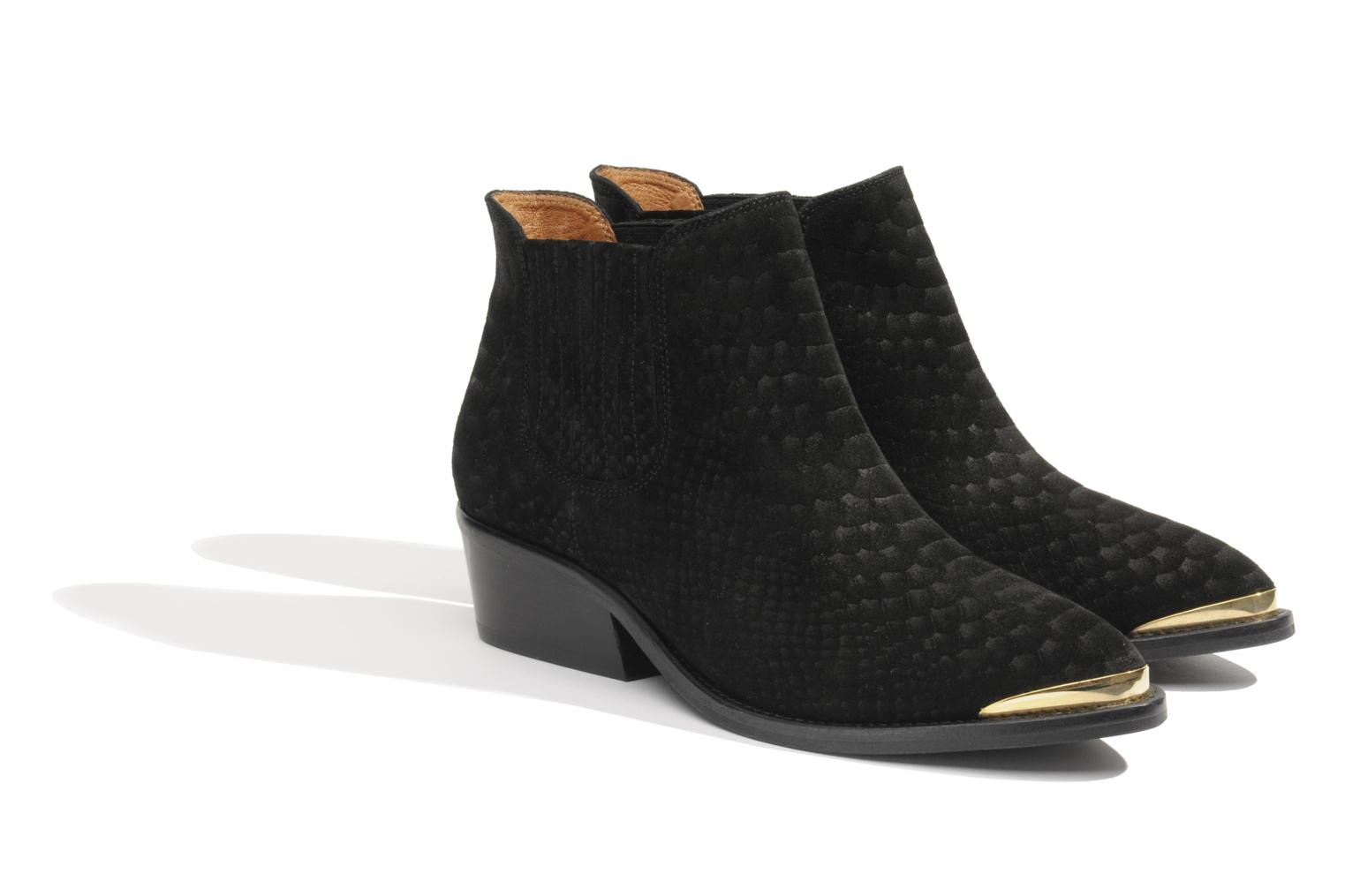 Ankle boots Made by SARENZA Cape Town #3 Black view from the right