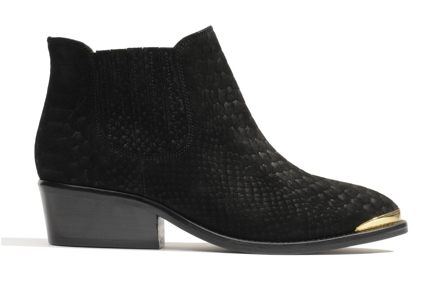 Ankle boots Made by SARENZA Cape Town #3 Black detailed view/ Pair view