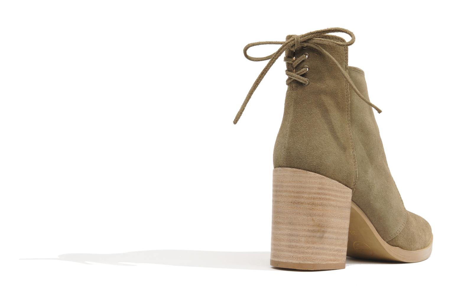 Ankle boots Made by SARENZA Buttes-Chaumont #2 Beige model view