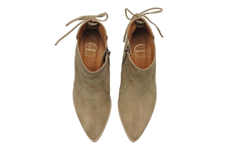 Bottines et boots Made by SARENZA Buttes-Chaumont #2 Beige vue haut
