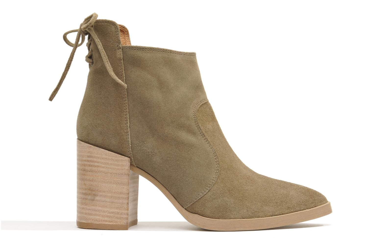 Ankle boots Made by SARENZA Buttes-Chaumont #2 Beige detailed view/ Pair view