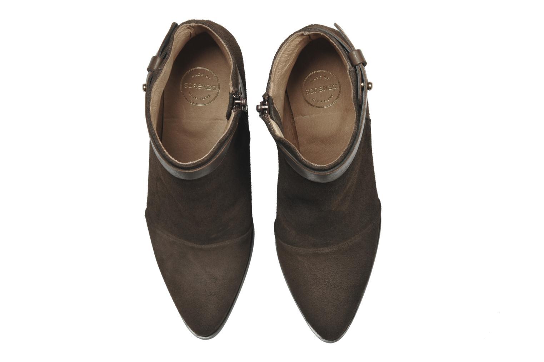 Bottines et boots Made by SARENZA Rue des Dames #7 Marron vue portées chaussures