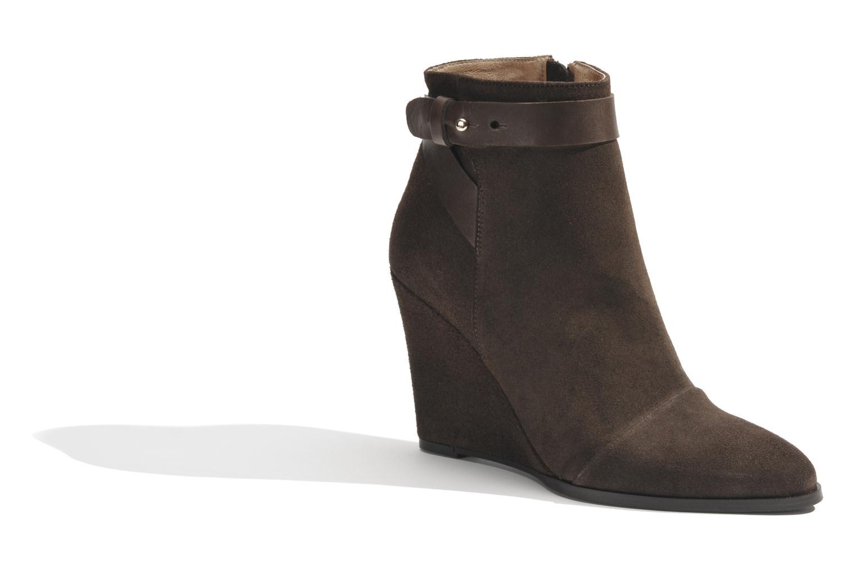 Bottines et boots Made by SARENZA Rue des Dames #7 Marron vue droite
