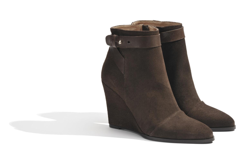 Bottines et boots Made by SARENZA Rue des Dames #7 Marron vue derrière