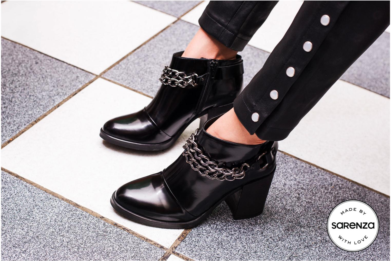 Boots en enkellaarsjes Made by SARENZA Bataclan #21 Zwart 3/4'