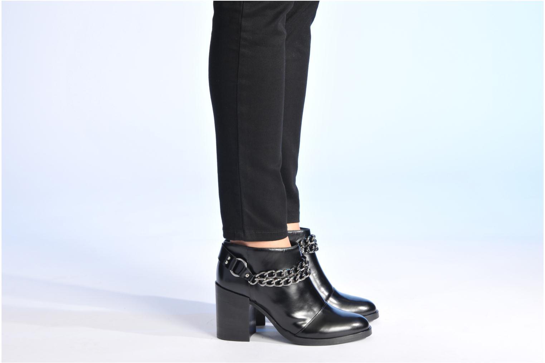 Stiefeletten & Boots Made by SARENZA Bataclan #21 schwarz ansicht von unten / tasche getragen