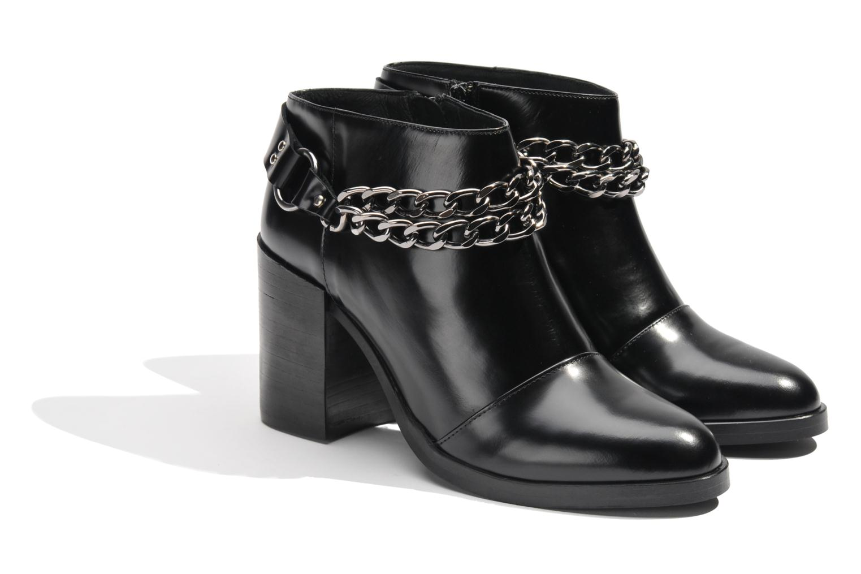 Boots en enkellaarsjes Made by SARENZA Bataclan #21 Zwart achterkant