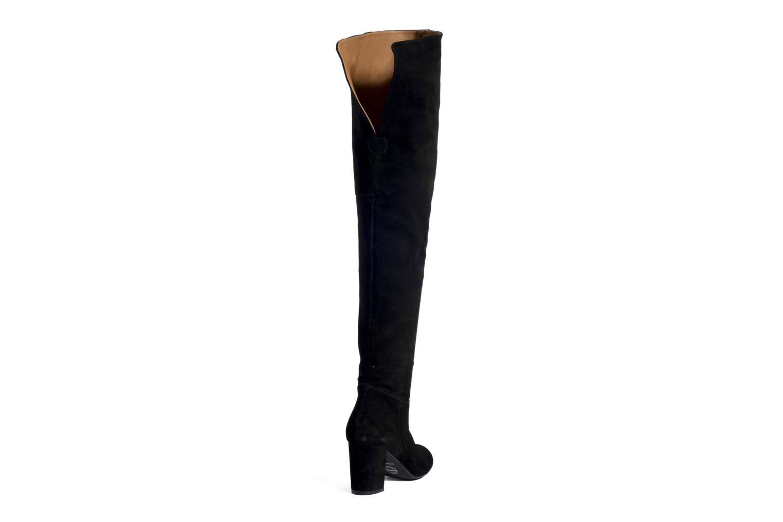 Stiefel Made by SARENZA Boots Camp #13 schwarz ansicht von vorne