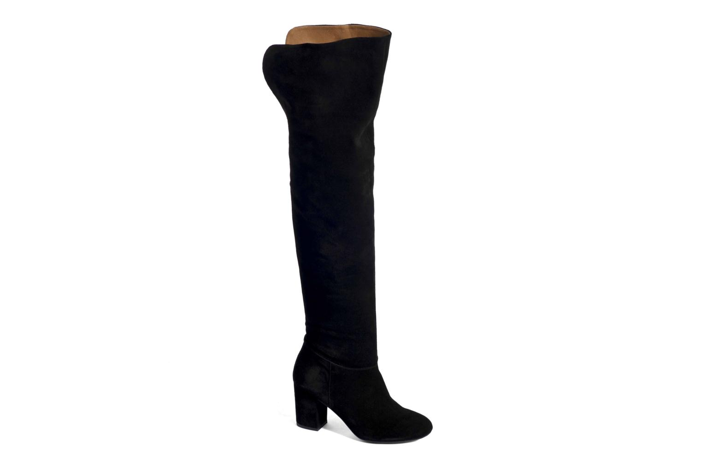 Stiefel Made by SARENZA Boots Camp #13 schwarz ansicht von hinten