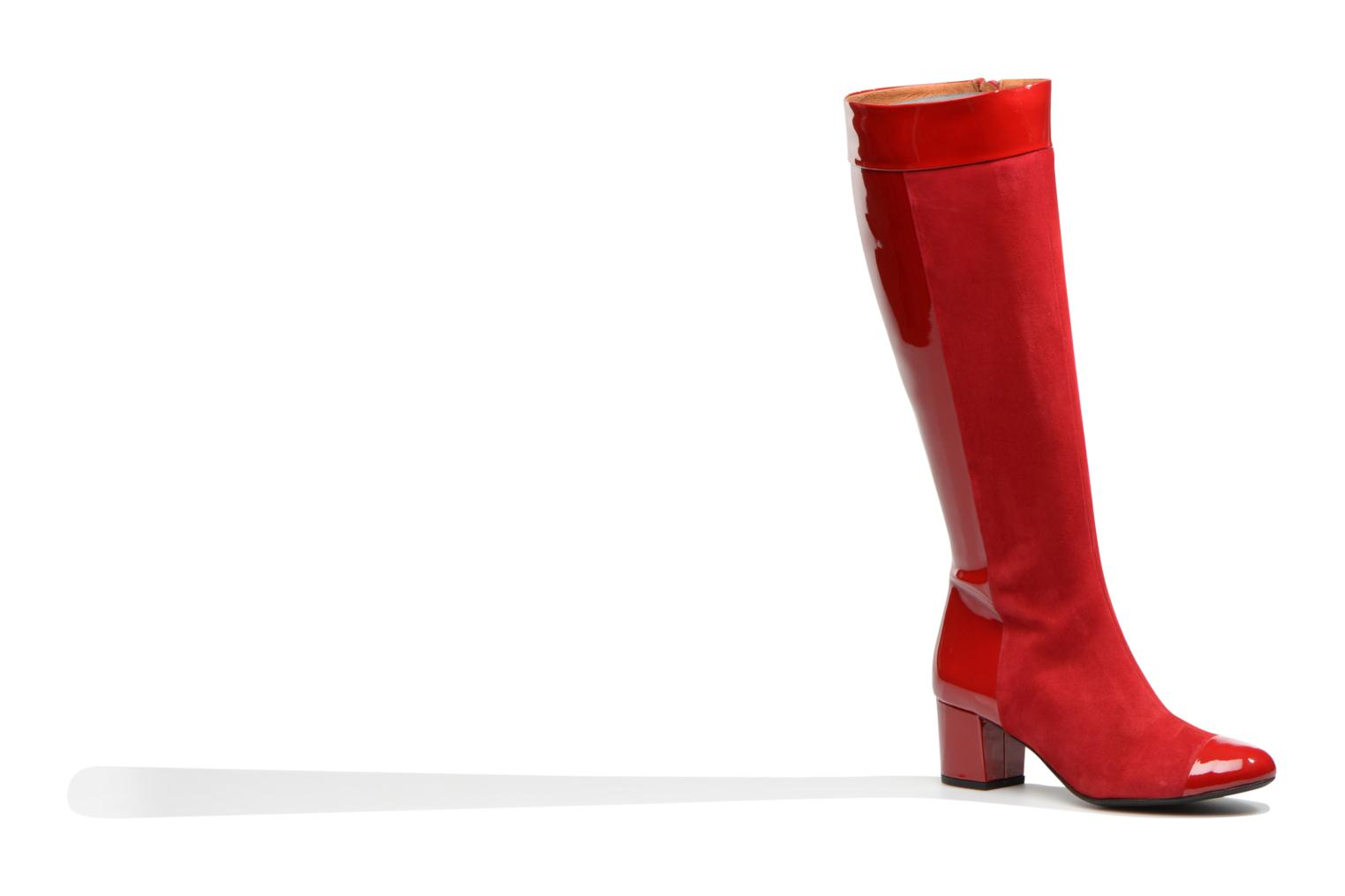 Bottes Made by SARENZA Boots Camp #4 Rouge vue droite