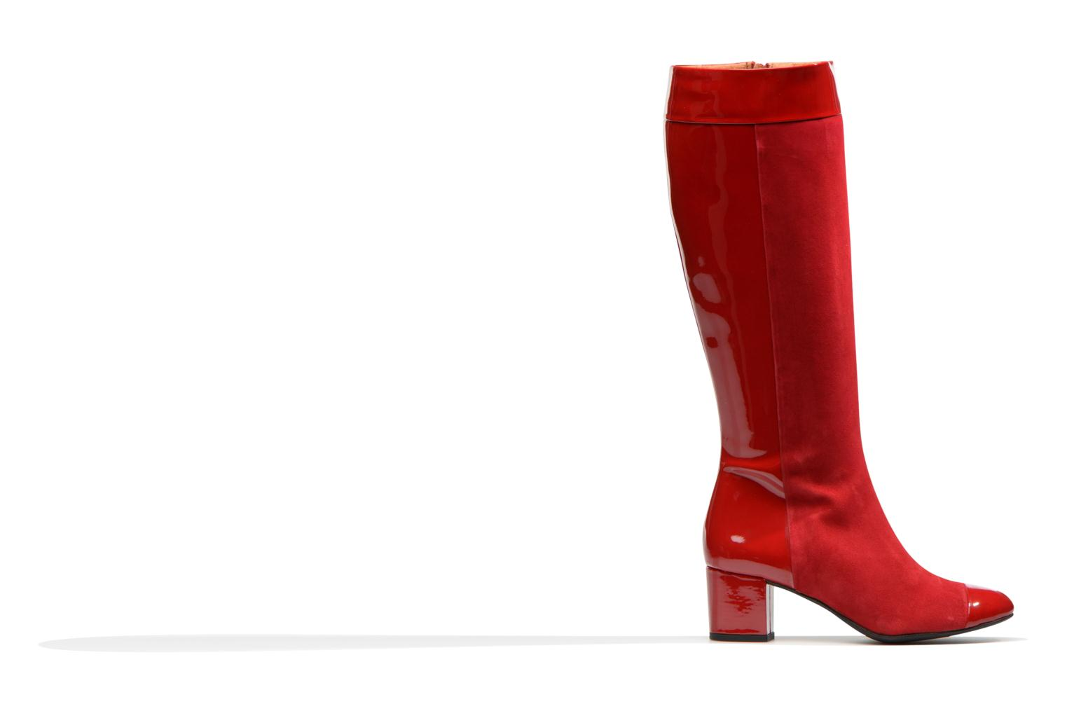 Boots & wellies Made by SARENZA Boots Camp #4 Red detailed view/ Pair view