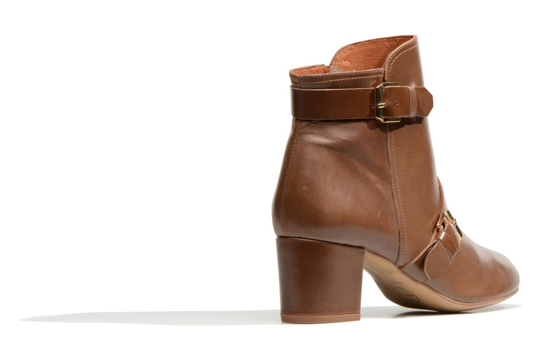 Stiefeletten & Boots Made by SARENZA Chantilly Chérie #4 braun ansicht von vorne