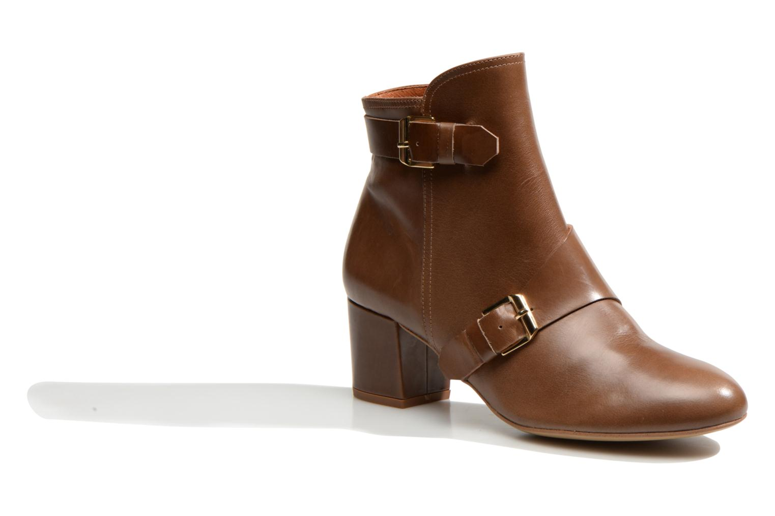 Ankle boots Made by SARENZA Chantilly Chérie #4 Brown view from the right