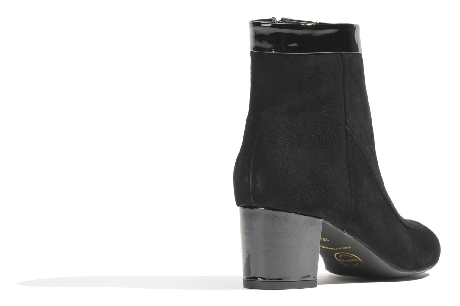Ankle boots Made by SARENZA Queens Cross #17 Black front view