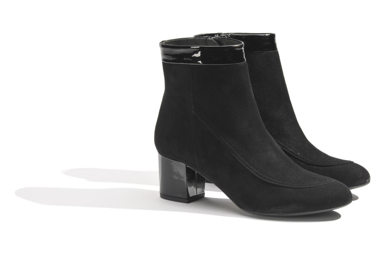 Boots en enkellaarsjes Made by SARENZA Queens Cross #17 Zwart achterkant