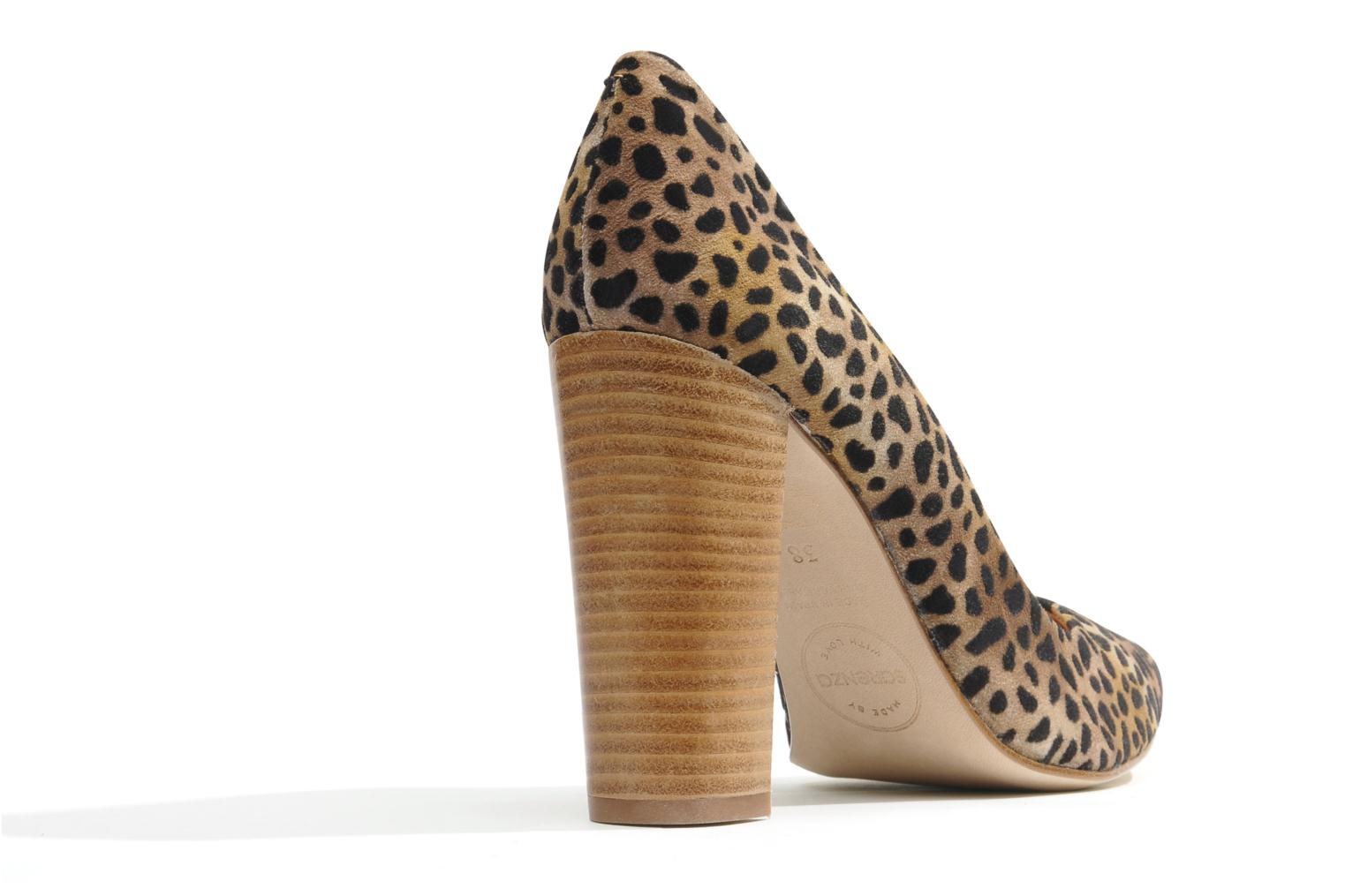 Pumps Made by SARENZA Cape Town #1 Bruin voorkant