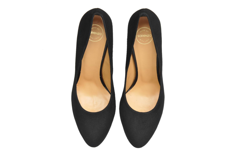 High heels Made by SARENZA Glaçons citrons #18 Black model view