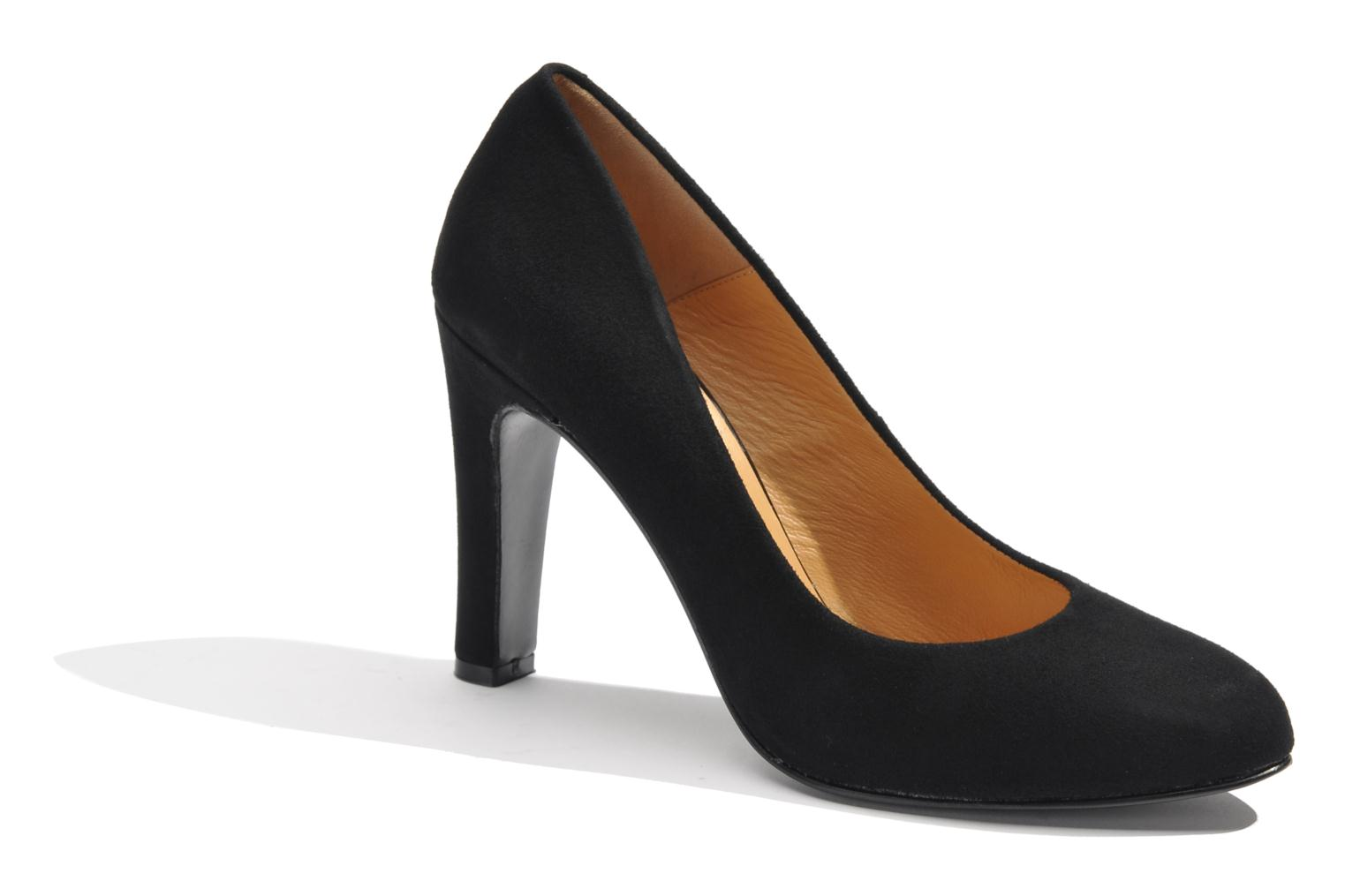 High heels Made by SARENZA Glaçons citrons #18 Black view from the right