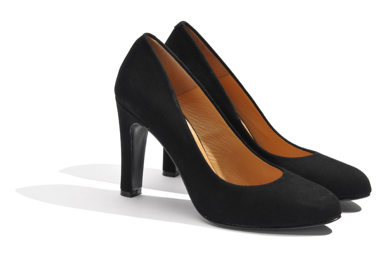 High heels Made by SARENZA Glaçons citrons #18 Black back view