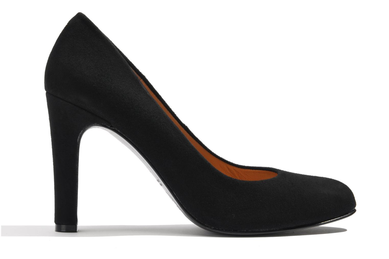 High heels Made by SARENZA Glaçons citrons #18 Black detailed view/ Pair view