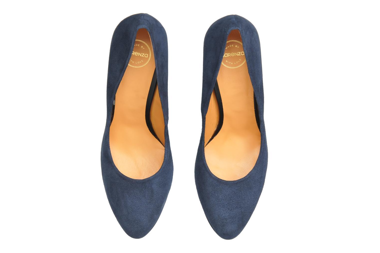 Escarpins Made by SARENZA Glaçons citrons #18 Bleu vue portées chaussures