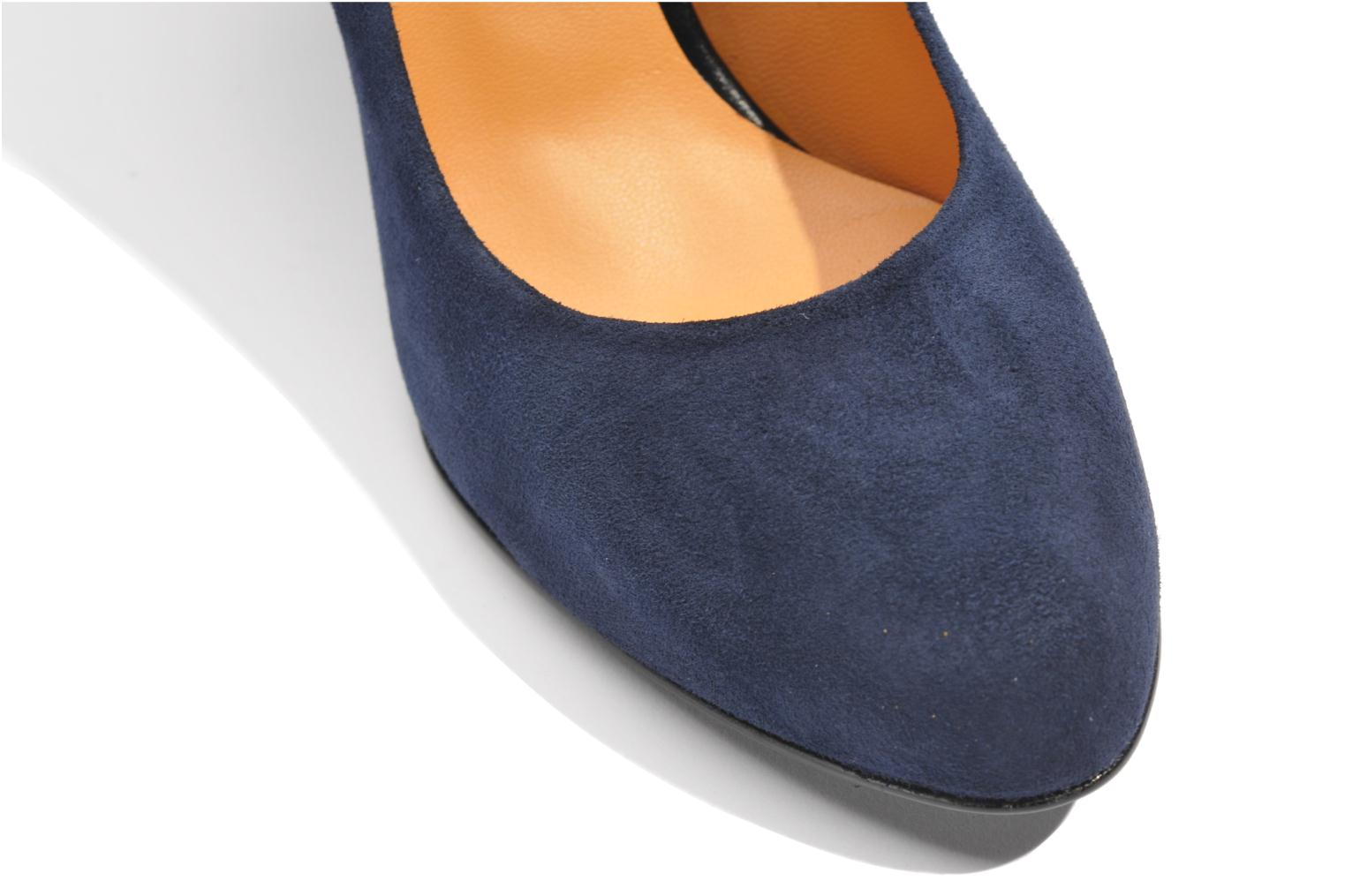 High heels Made by SARENZA Glaçons citrons #18 Blue view from above