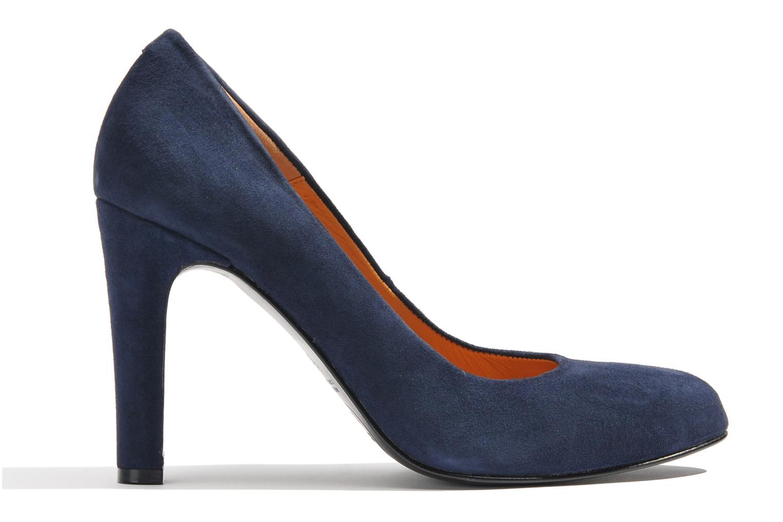 Escarpins Made by SARENZA Glaçons citrons #18 Bleu vue détail/paire